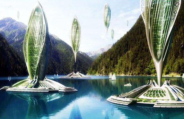 Algae Airships and Airborne Cities