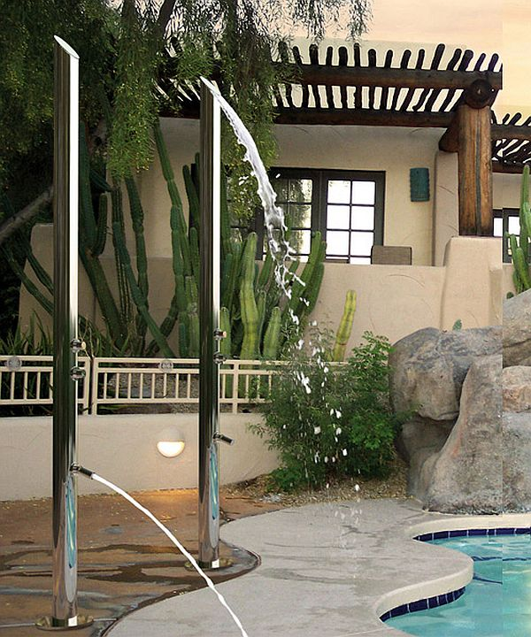 Aquabambu Outdoor Shower Designed by Bossiniby