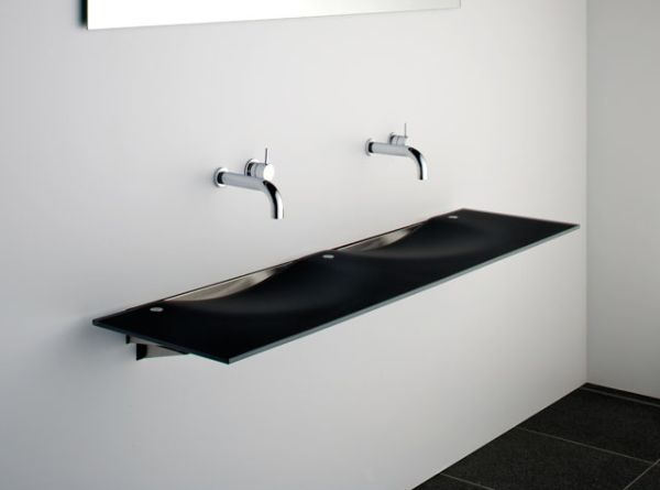 Contemporary Onda Washplane Sink from Omvivo