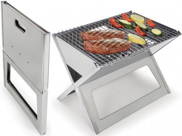 Fold and Go Portable Charcoal X-Grill