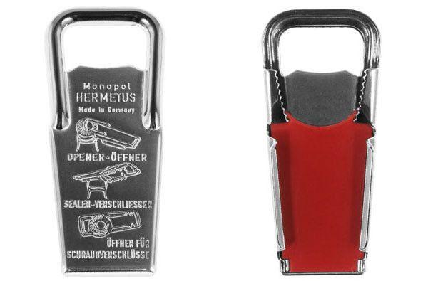 Hermetus Bottle Opener and Resealer
