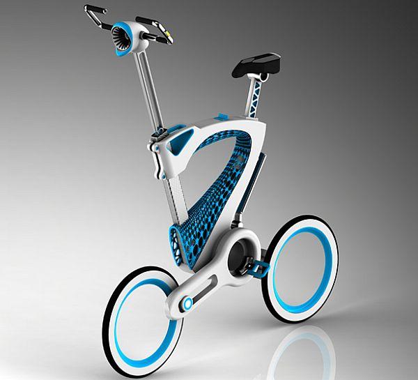 MORI folding bike