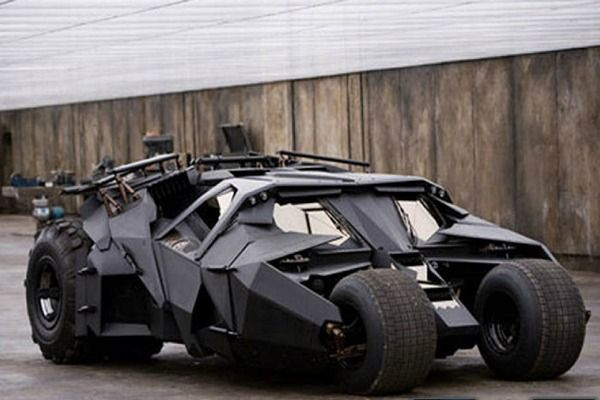 Tumbler from Nolan's Batman trilogy