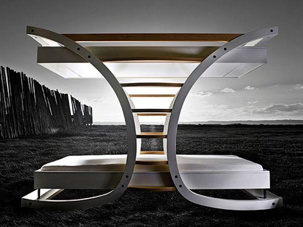 Wooden Framework Bunk Beds