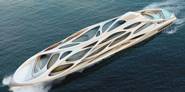 Yacht design by Zaha Hadid-1