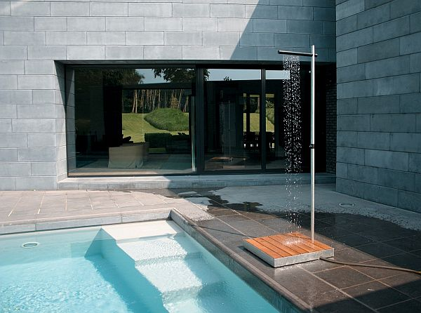 the Cascade Outdoor Shower