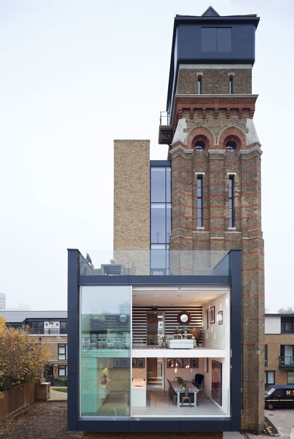 water tower in London