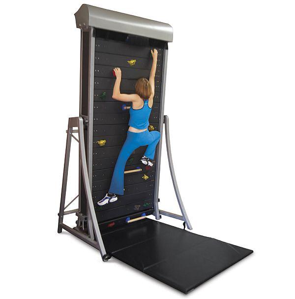 The Wall Climbing Treadmill, aka Treadwall