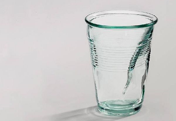 Crinkled Glass