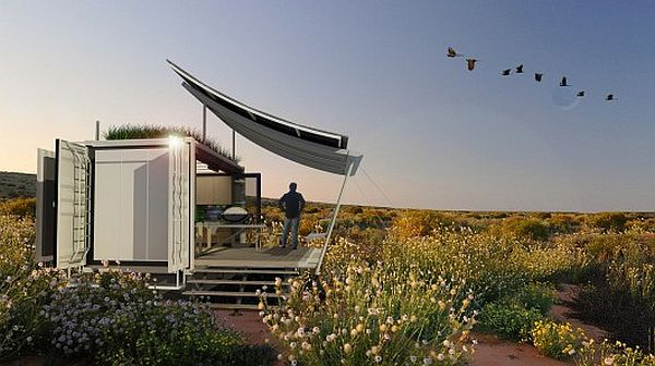 G-Pod Off Grid Home