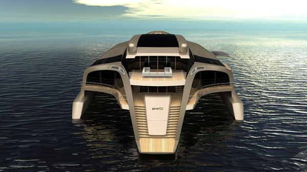 210 Power Trimaran