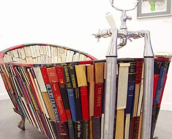 A book bath