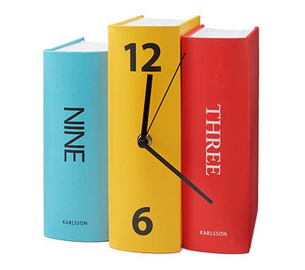 Book Clock 1