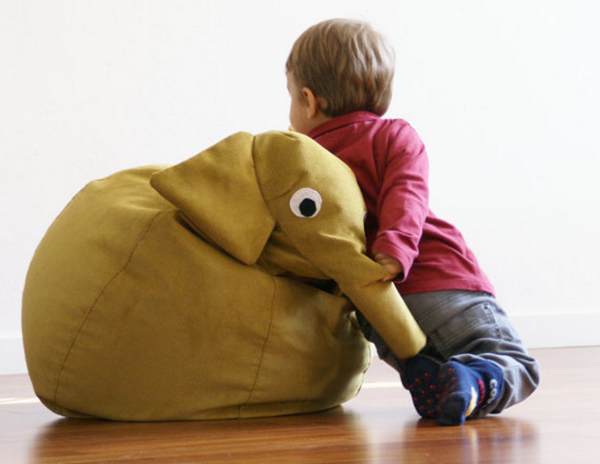 Elephant beanbag