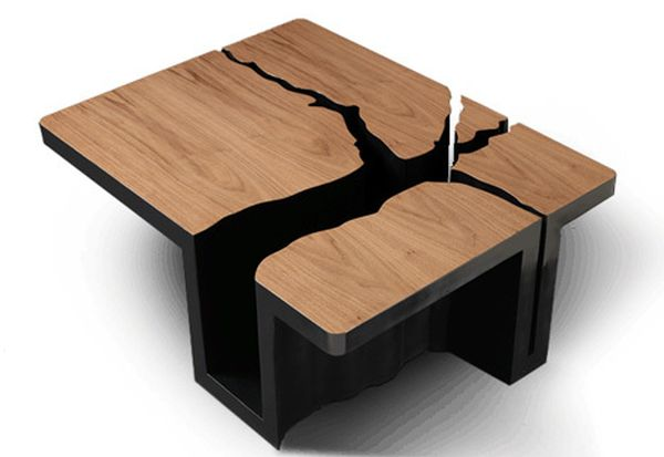 Extruded Tree Coffee Table Design 2
