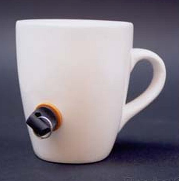 The anti-theft coffee cup