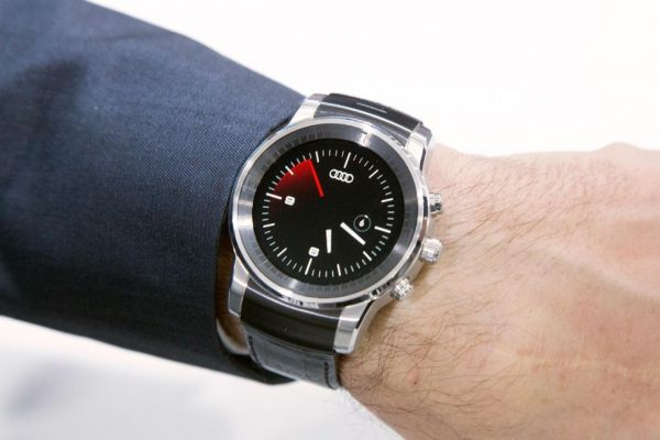 Audi SmartWatch hands-on 1