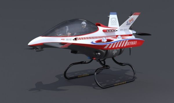 Skyway helicopter concept