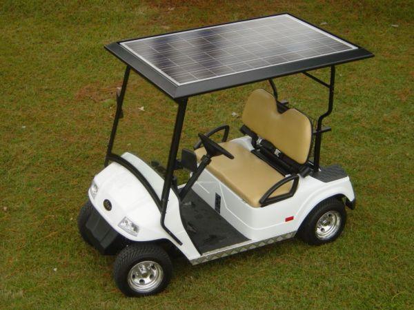 Solar Golf Cart Panels
