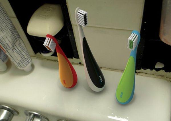 Standing toothbrush