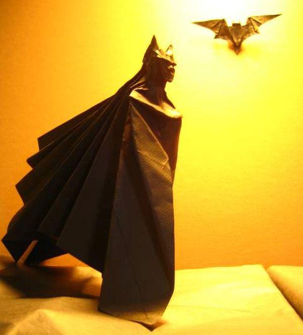Batman Origami by Brian Chan