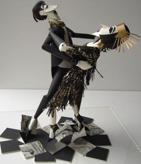 Emotive Paper Figurines