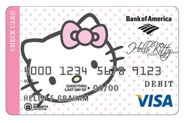 Hello Kitty Credit Card 2