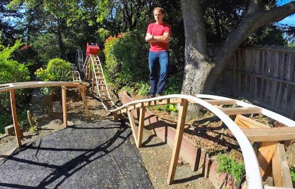 Home-made Roller Coaster