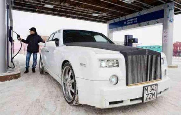 Home-made Rolls Royce