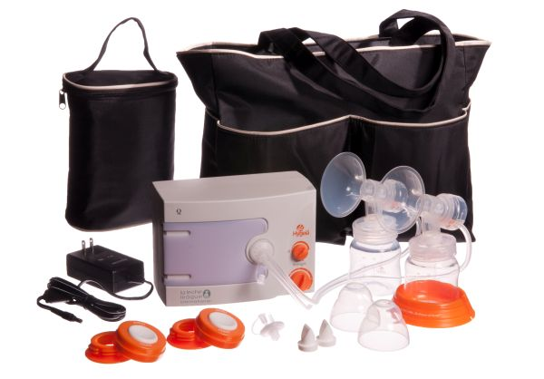 Hygeia double electric breast pump