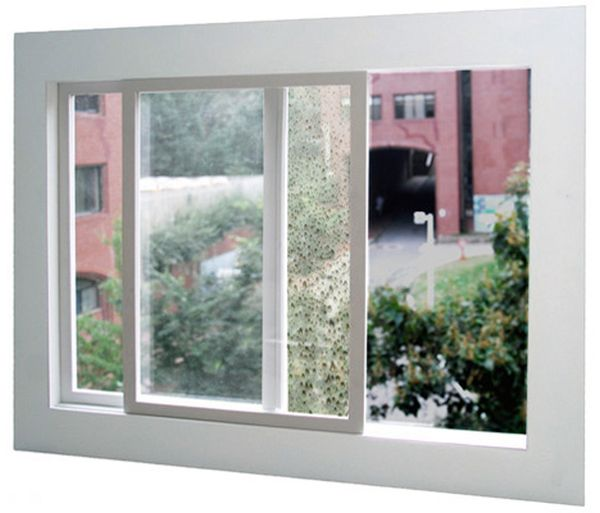 Window Built in Squeegee