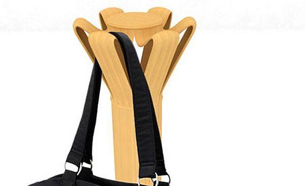 Bamboo Coat Hanger Concept