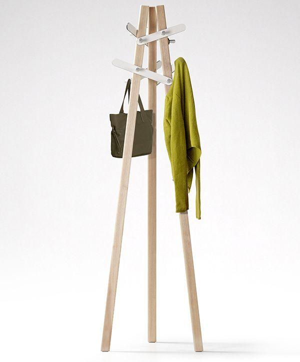 Six Leaf Coat Hanger
