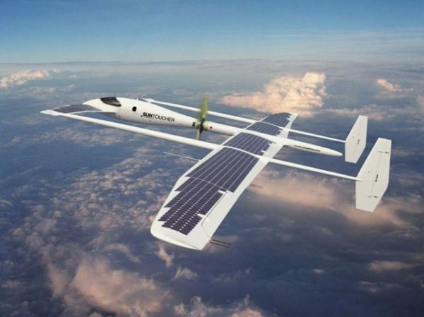 Suntoucher Solar Powered Aircraft