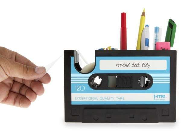 Cassette Pencil Holder