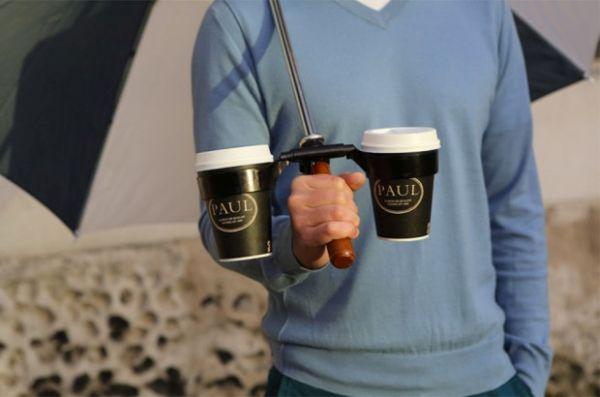 Coffee Holder Umbrella