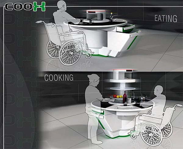Coox Kitchen cum Dining Area