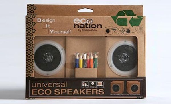 Eco-friendly Cardboard Speakers