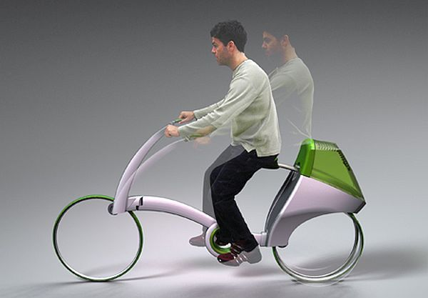 FWD Human Powered Vehicle