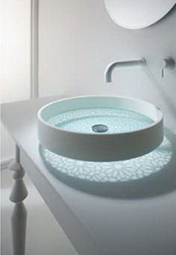Glass Bottom Washbasin