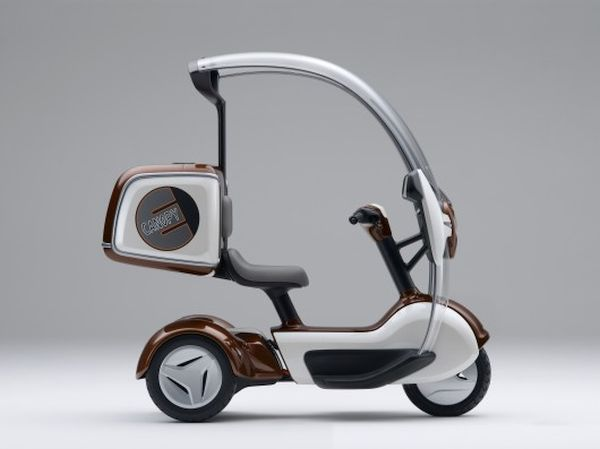 GyroCanopy 3 Wheeled Scooter