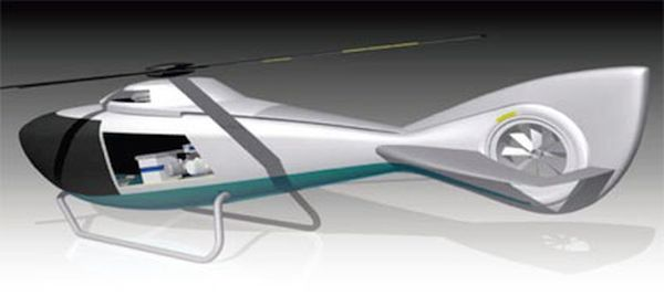 Hybrid Helicopter Concept