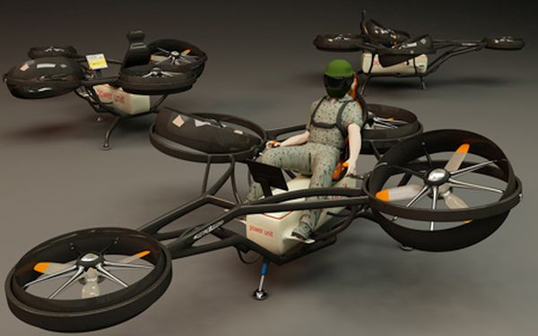 Mosquito Helicopter Concept