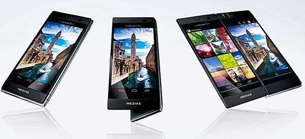 NEC Casio Dual Screen Smartphone