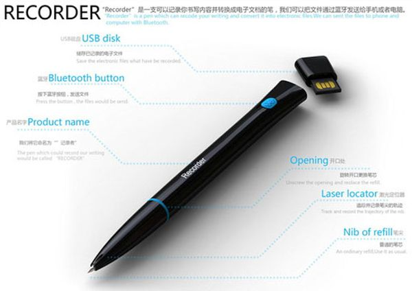 Recorder Pen