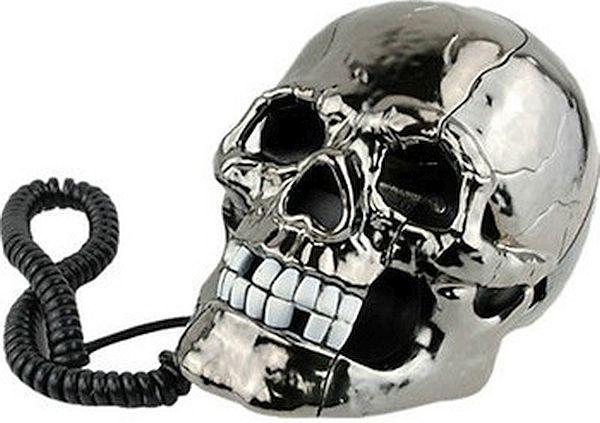 Skull phone