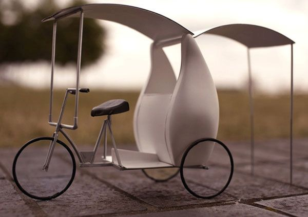 Solar Cool Tricycle