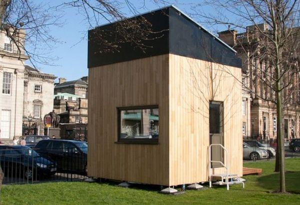 Solar Powered Cube House