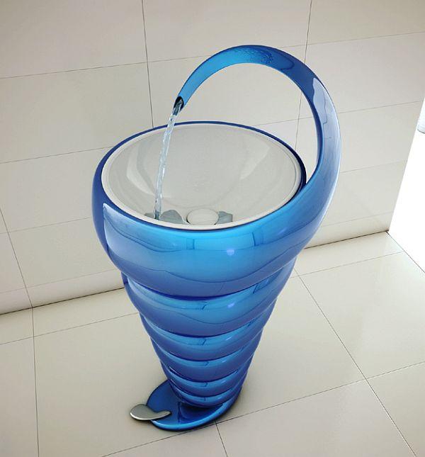 Spiral Washbasin