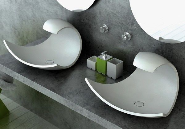 Wave Washbasin